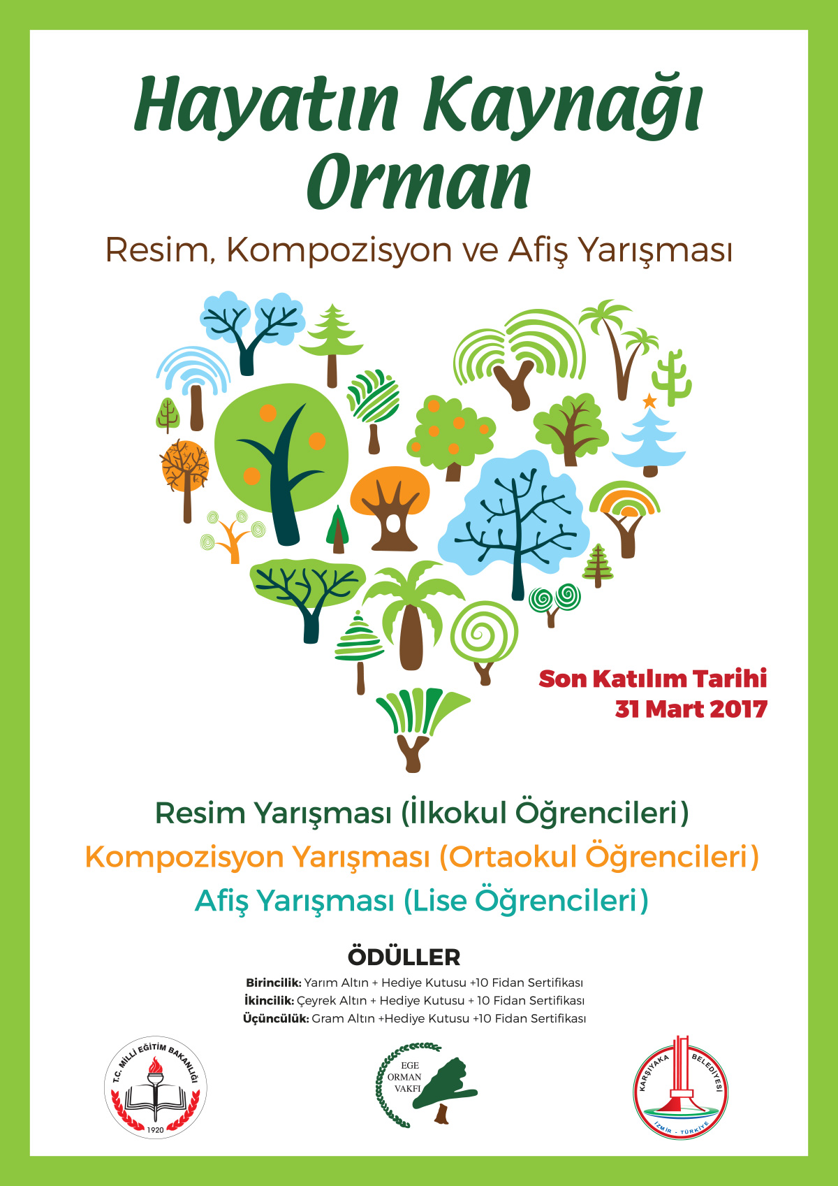 Ege Orman Vakfi Online Fidan Bagisi Agac Fidan Koru Ve Orman